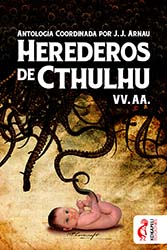 Portada antología Herederos de Cthulhu