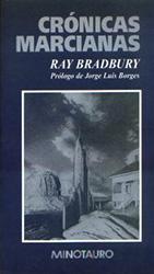 Portada Crónicas marcianas, Ray Bradbury
