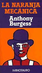 Portada La naranja Mecánica, Anthony Burgess