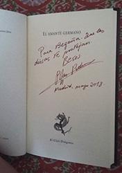 Interior El amante germano: Firma de Pilar Pedraza para Begoña Pérez