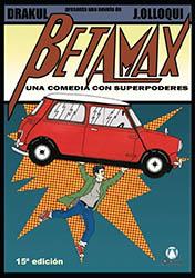 Portada Betamax. Una comedia con superpoderes