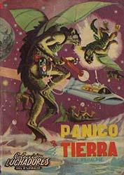 Los portadistas de Luchadores del espacio, José Carlos Canalda